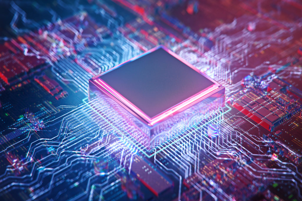 Motherboard digital chip semiconductor technology